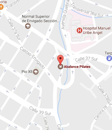 Mapa Abalance Pilates